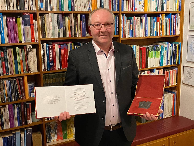 Der Preisträger Dr. Georg Bollig